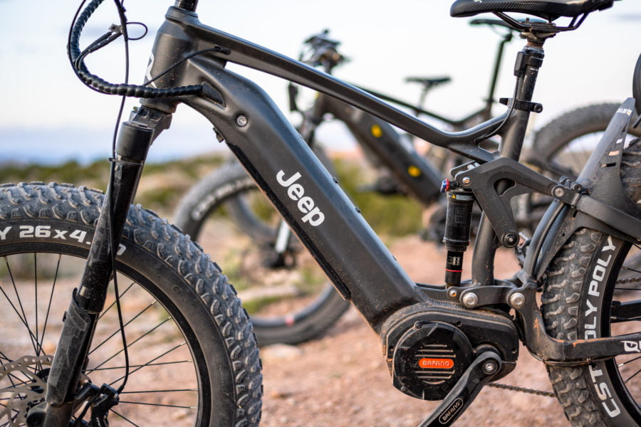 e-Bike / The New Jeep Electric Mountain Bicycle