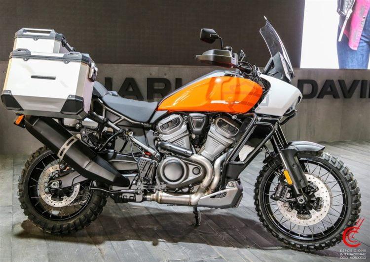 Pan America Harley-Davidson rewire