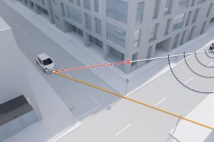"Researchers from Princeton have figured out how to ""see around corners"" with a vehicle's onboard radar. Photo: Princeton"