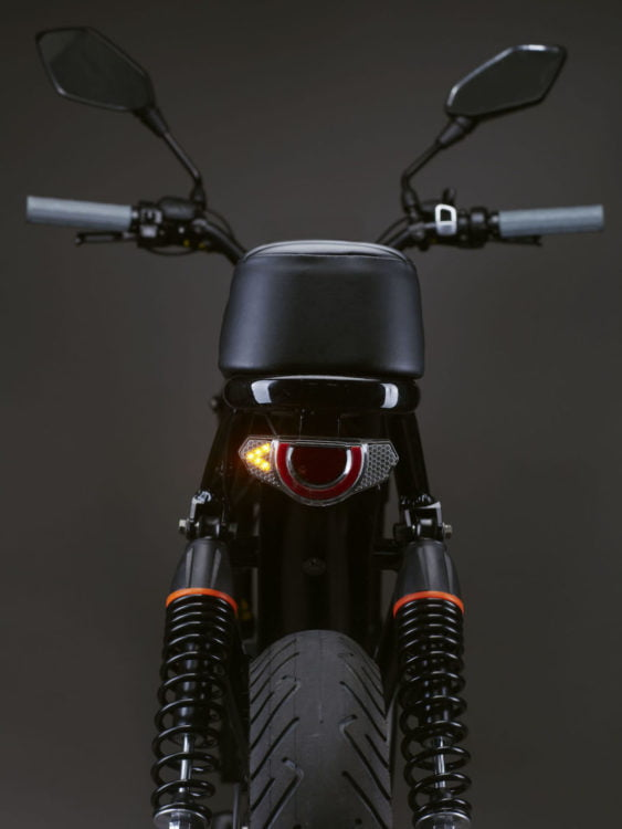 Spark Cycleworks electric moped