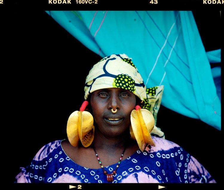 Hello stranger (Mali). Pentax 67, 105mm f2.4, Kodak Portra 160 film.