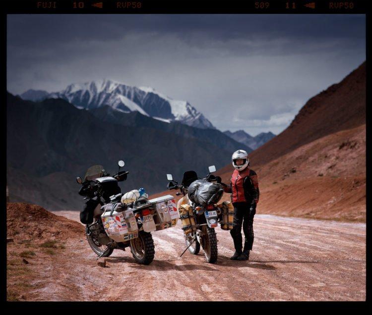 At the passroad (Kyrgyztan).Pentax 67, 200mm f4, Fuji Velvia 50.