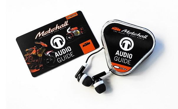 motohall audio tour guide