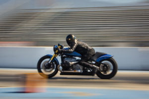 Roland Sands collaborates with BMW to build the R18 Dragster custom